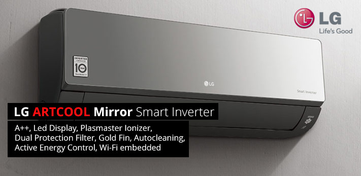 Aer conditionat tablou LG ARTCOOL Mirror