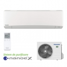 Aparat de aer conditionat Panasonic ETHEREA cu nanoe™ X White Inverter+ KIT-Z25-VKE 9000 Btu/h Wi-Fi inclus