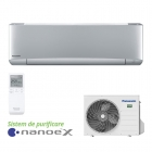Aparat de aer conditionat Panasonic ETHEREA cu nanoe™ X Silver Inverter+ KIT-XZ20-VKE 7000 Btu/h Wi-Fi inclus